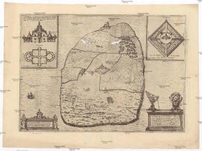 Topographia insulae Huenae in celebri porthmo regni Daniae, quem vulgo Oersunt uocant