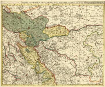 Tabula Geografica, Partem Inferioris Rheni continens