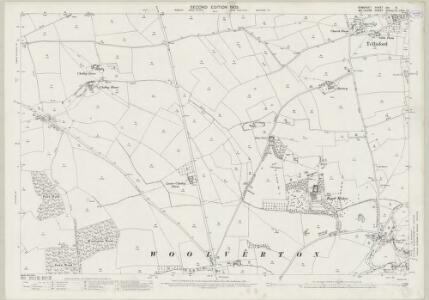 Somerset XXI.15 (includes: Lullington; Norton St Philip; Rode; Tellisford) - 25 Inch Map