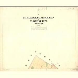 Nieder Baumgarten - c1359-1-001 - Kaiserpflichtexemplar der Landkarten des stabilen Katasters