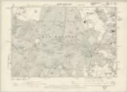 Buckinghamshire LVIII.NW - OS Six-Inch Map