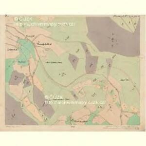 Eisenstrass - c1950-1-009 - Kaiserpflichtexemplar der Landkarten des stabilen Katasters