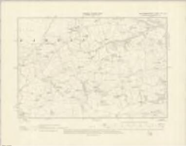 Montgomeryshire XIII.SE - OS Six-Inch Map