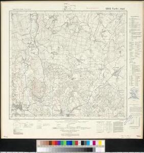 Meßtischblatt 6643 : Furth i. Wald, 1942