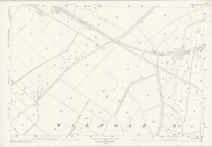 Norfolk XXXII.9 (includes: Central Wingland; Walpole St Andrew; Walpole St Peter) - 25 Inch Map