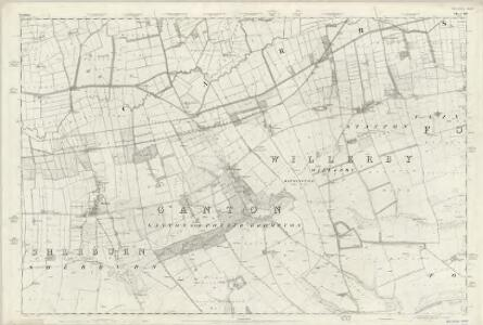 Yorkshire 109 - OS Six-Inch Map