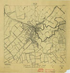 Isigny [Town plan] (1944)