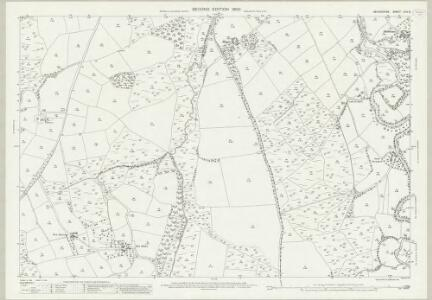 Devon LXIV.8 (includes: Exbourne; Inwardleigh; Jacobstowe; Okehampton Hamlets; Sampford Courtenay) - 25 Inch Map