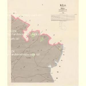 Khaa - c3768-1-005 - Kaiserpflichtexemplar der Landkarten des stabilen Katasters