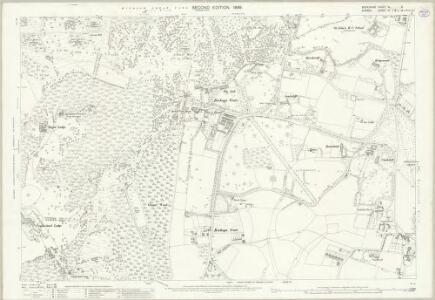 Berkshire XL.6 (includes: Egham; Old Windsor) - 25 Inch Map