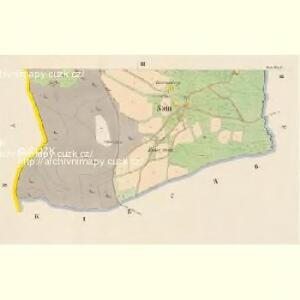 Stein - c2996-1-002 - Kaiserpflichtexemplar der Landkarten des stabilen Katasters