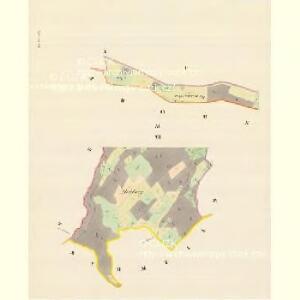 Herlsdorf (Herldowice) - m0687-1-004 - Kaiserpflichtexemplar der Landkarten des stabilen Katasters