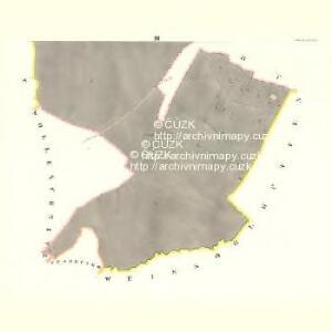 Obetzdorf (Obectow) - m2092-1-003 - Kaiserpflichtexemplar der Landkarten des stabilen Katasters