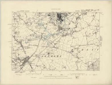 Worcestershire V.SW - OS Six-Inch Map