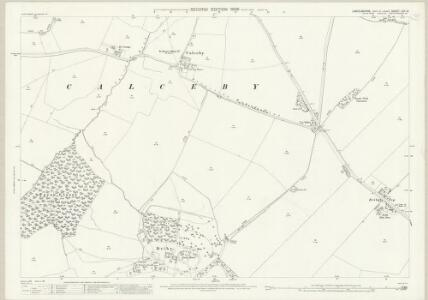 Lincolnshire LXV.16 (includes: Calceby; Driby; South Ormesby cum Ketsby; South Thoresby) - 25 Inch Map