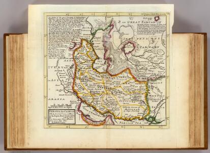 Persia, Caspian Sea, part of Independent Tartary.