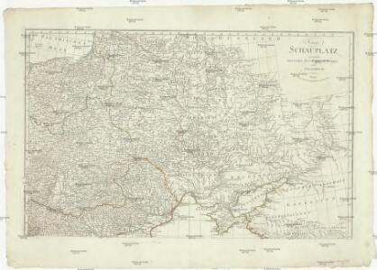 Kriegs Schauplatz zwischen Preussen Russland, der Türkey und Frankreich