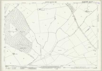 Northamptonshire XXVII.7 (includes: Barnwell; Brington and Molesworth; Clopton; Great Gidding; Luddington; Thurning; Winwick) - 25 Inch Map