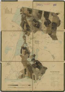 Porostní mapa polesí Kolence 1