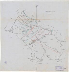 Mapa planimètric d'Aitona