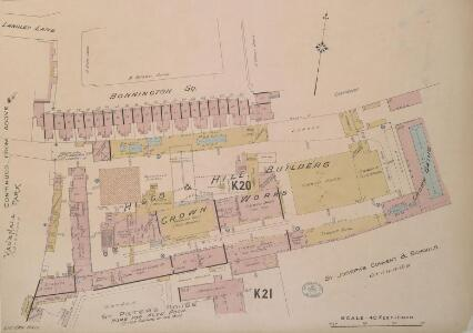 Insurance Plan of London South West District Vol. K: sheet 7-2