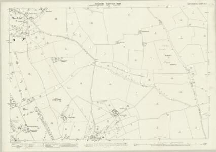 Hertfordshire XIII.1 (includes: Clothall; Weston) - 25 Inch Map