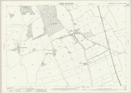 Lincolnshire XLVIII.9 (includes: Brackenborough; Keddington; Louth; South Elkington) - 25 Inch Map
