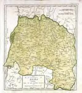 Mapa de la provincia, de Beira