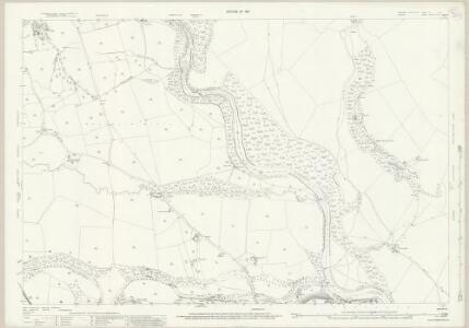 Yorkshire V.10 (includes: Cotherstone; Eggleston; Hunderthwaite; Marwood; Romaldkirk) - 25 Inch Map
