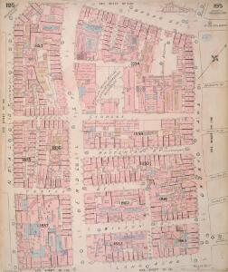 Insurance Plan of London Vol. VIII: sheet 195