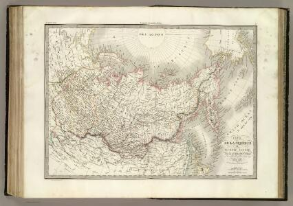 Siberie, Russie d'Asie.