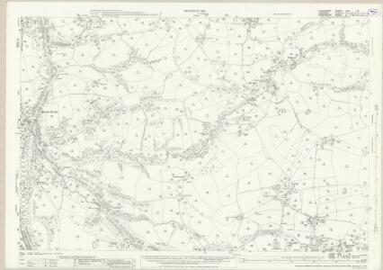 Lancashire CXII.16 (includes: Marple) - 25 Inch Map