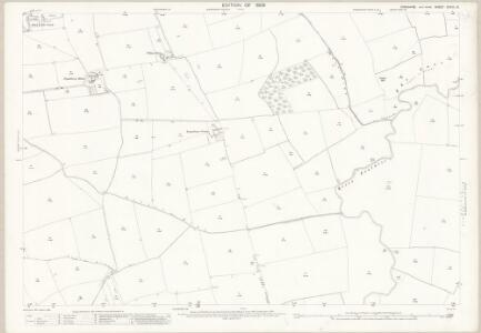 Yorkshire CCVIII.13 (includes: Foggathorpe; Holme Upon Spalding Moor; Seaton Ross) - 25 Inch Map