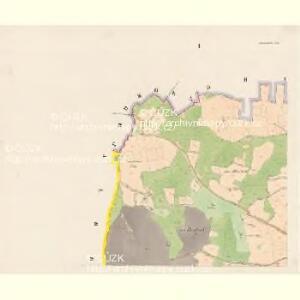 Kadeschitz - c2968-1-001 - Kaiserpflichtexemplar der Landkarten des stabilen Katasters