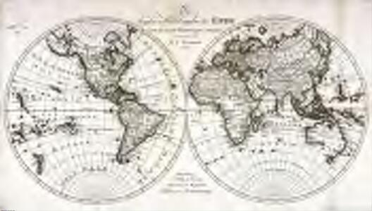 Die beyden Halbkugeln der Erde