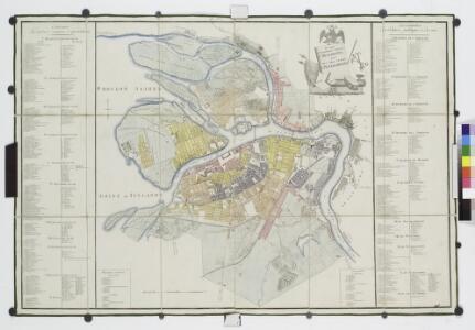 Planʺ stolichnago goroda St. Peterburga = Plan de la ville capitale S. Petersbourg / gr. Al. Savinkov.