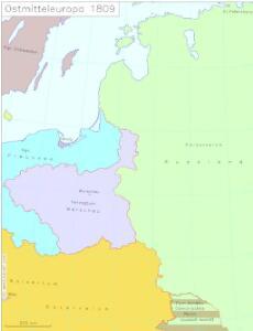Ostmitteleuropa 1809