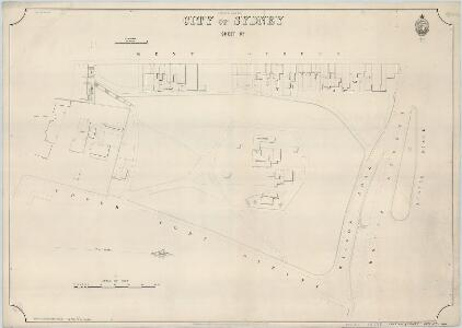 City of Sydney, Sheet R4, 2nd ed. 1892