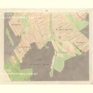 Horniemtsch - m0805-1-006 - Kaiserpflichtexemplar der Landkarten des stabilen Katasters