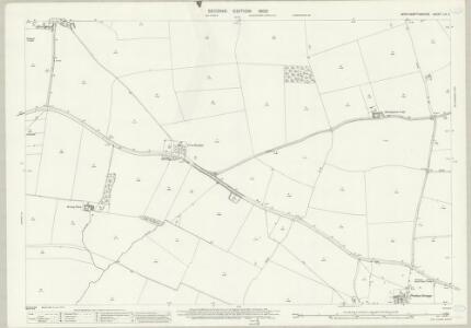 Northamptonshire LII.2 (includes: Great Houghton; Hackleton; Hardingstone; Wootton) - 25 Inch Map