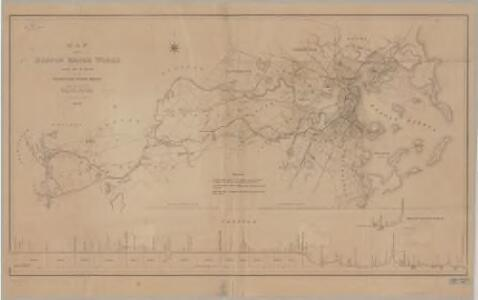Map of the Boston water works