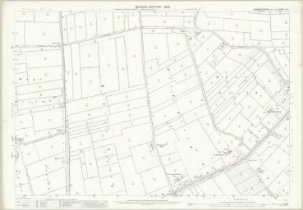 Cambridgeshire VII.1 (includes: Leverington; Parson Drove; Wisbech St Mary) - 25 Inch Map