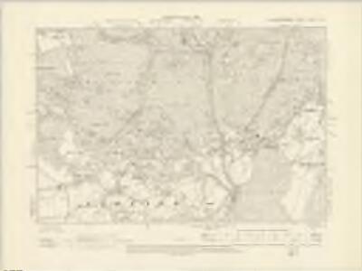 Gloucestershire XXXIX.SW - OS Six-Inch Map