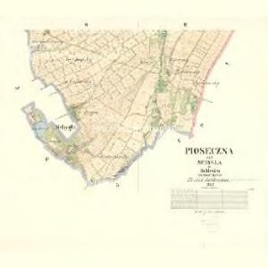 Pioseczna - m2286-1-002 - Kaiserpflichtexemplar der Landkarten des stabilen Katasters