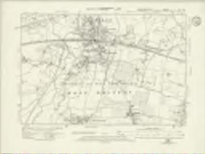 Buckinghamshire LVII.NW - OS Six-Inch Map