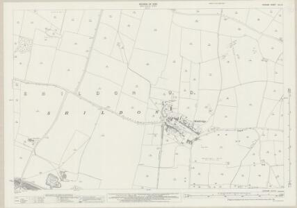 Durham XLII.12 (includes: Shildon) - 25 Inch Map