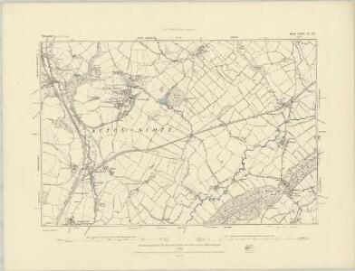 Shropshire LXIV.SE - OS Six-Inch Map