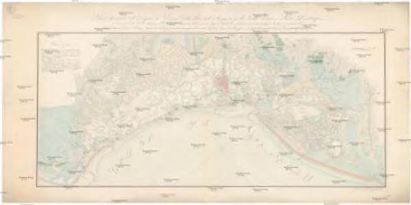 Piano generale delle lagune di Venezia dalla foce dell' Adige a quello della Piave, e paesi limitrofi