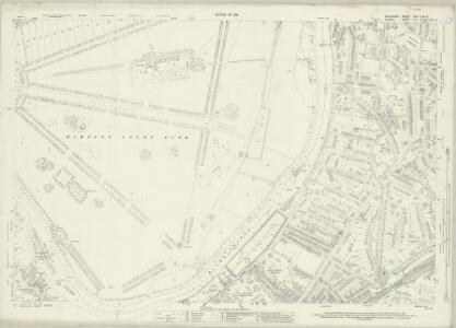 Middlesex XXV.12 & 16 (includes: Kingston Upon Thames; Long Ditton; Surbiton; Thames Ditton; Twickenham St Mary The Virgin) - 25 Inch Map