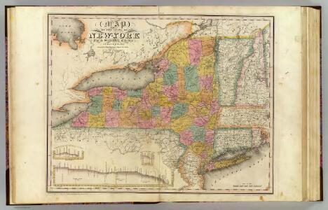 New-York State, surrounding country.